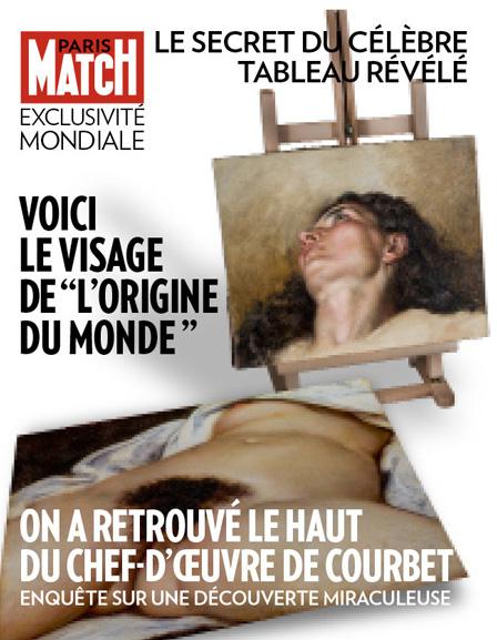 Capa da Paris Match, furo mundial